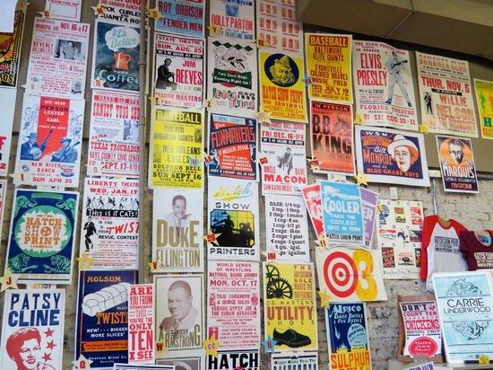 Hatch Show Print : Variety of posters