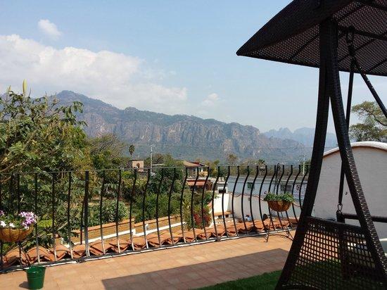 """Colibrí Hotel B&B: vista desde el """"roof garden"""""""