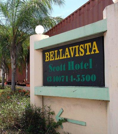 Bellavista Scott Hotel: Signage