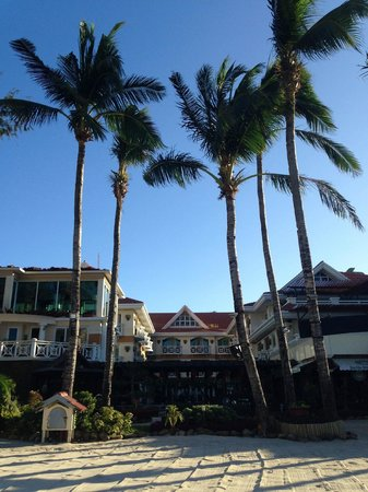 Boracay Mandarin Island Hotel: Hotel front
