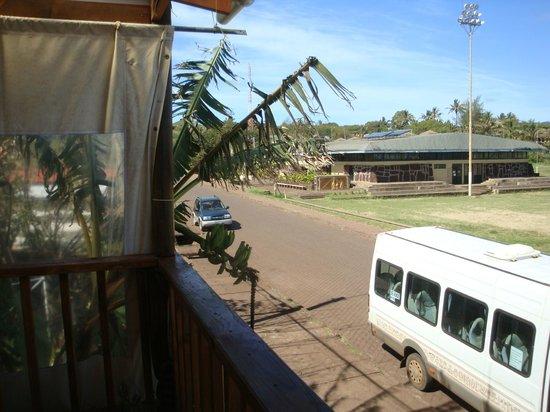 Kuki Varua : View from upstairs Patio