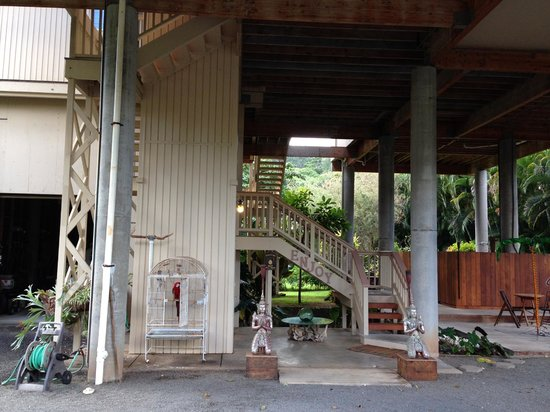 Hale Ho'o Maha Bed & Breakfast: Entrance