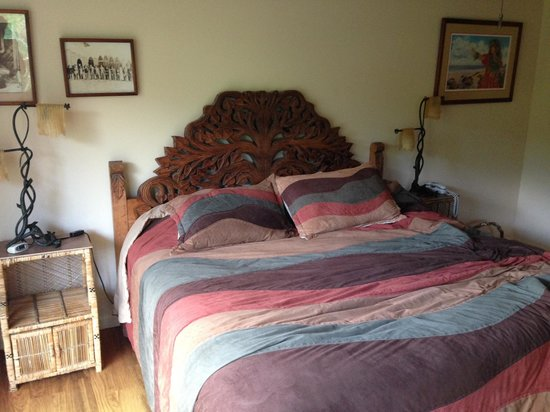Hale Ho'o Maha Bed & Breakfast: Mango room