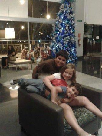 Wyndham Guayaquil: en el lobby