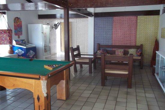 Arrecifes Hostel: sala de os.jog