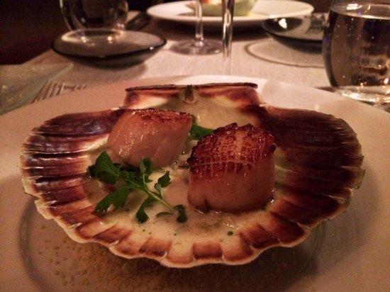 Somm Restaurant & Winebar: scallop