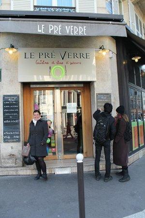 Le Pré Verre : Frente do Restaurante