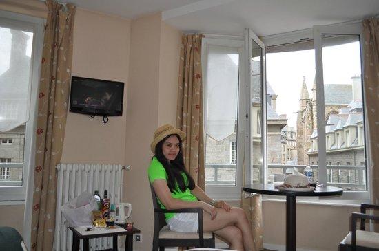 Hotel Cartier : ภายในห้องพัก