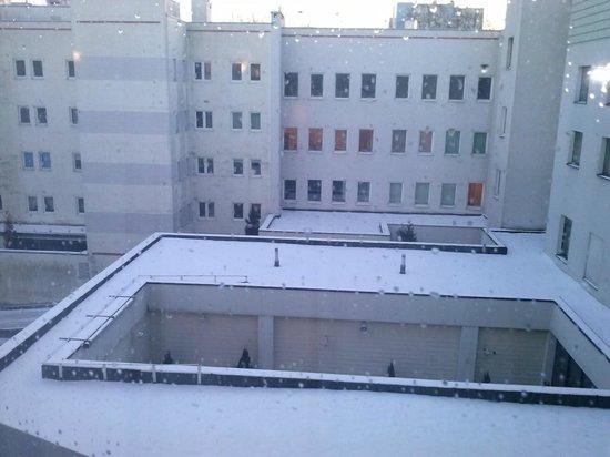 Hotel Novotel Szczecin Centrum: Widok z okna
