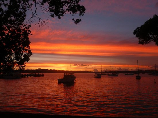 Sunset from the Duke of Marlborough
