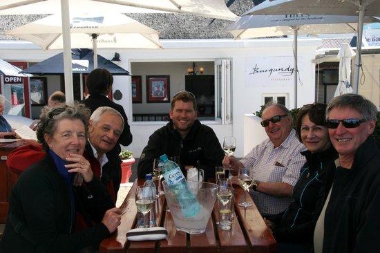 African Blue Day Tours: Burgundy Restaurant - Hermanus