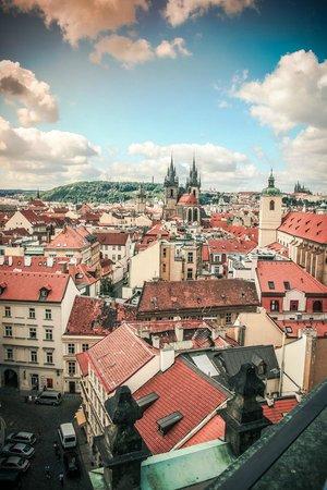 Hotel Paris Prague: Вид из номера