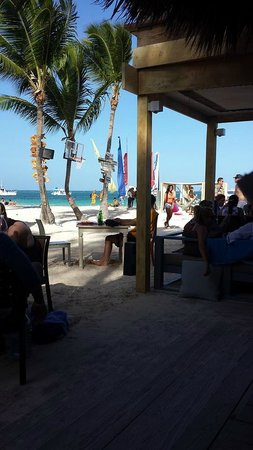 Huracan Cafe : View from the bar