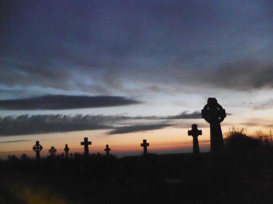 Carmen's Riding School : Dawn at Templemeagh Graveyard