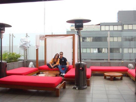 Radisson Hotel Decapolis Miraflores: Na cobertura