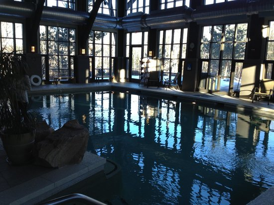 The Lodge at Woodloch: Indoor pool