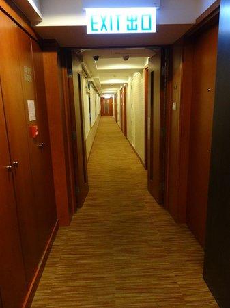 Caritas Bianchi Lodge: Hallway