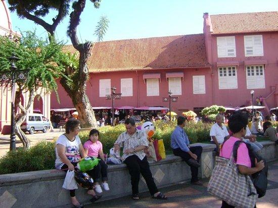 Red Square (Dutch Square): Melaka