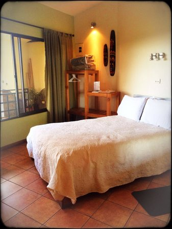 Pura Vida Hotel : The comfortable room at Hotel Pura Vida