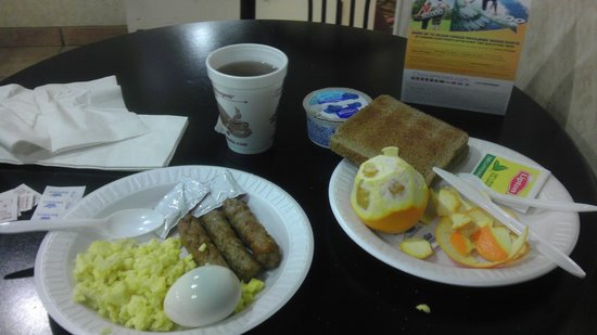 Comfort Inn University Center: Breakfast