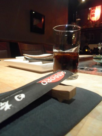 Sapporo Teppanyaki & Sushi Restaurant: Le coca : 2,80e les 20 cl...