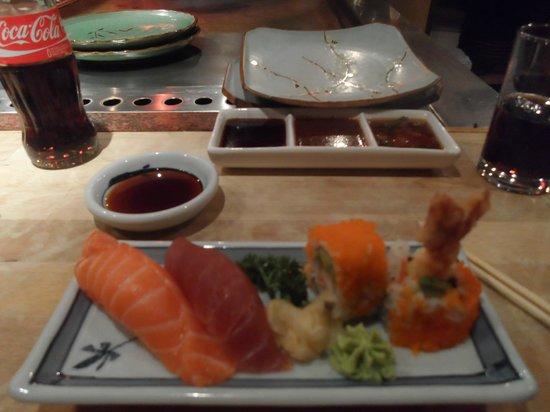 Sapporo Teppanyaki & Sushi Restaurant: Les sauces