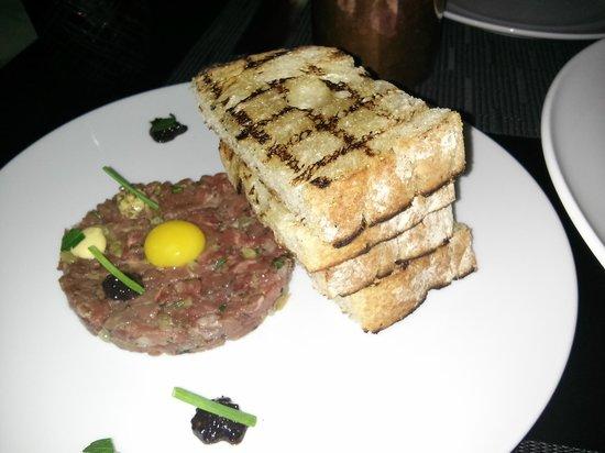 Element 47: Wagyu beef tartar