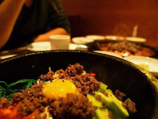 Myung Ga Korean Restaurant : Bibimbap