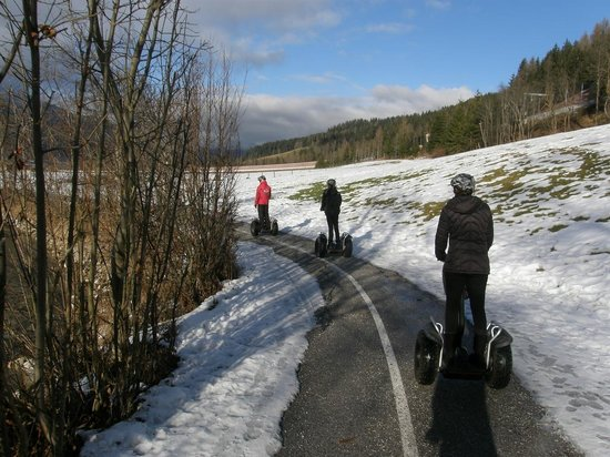Hermann Maier Adventures: Segway in the snow