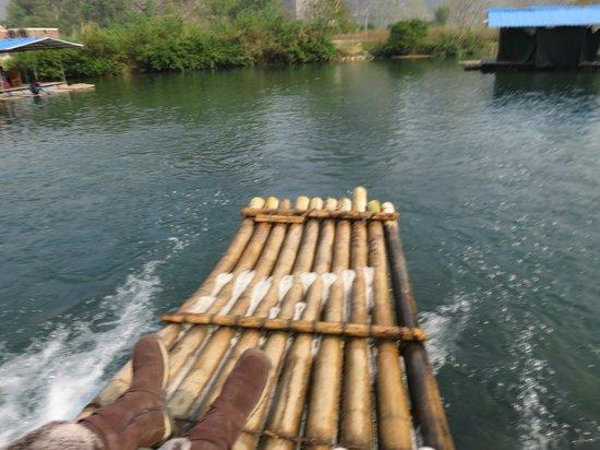 Yangshuo Tea Cozy: bamboo rafting
