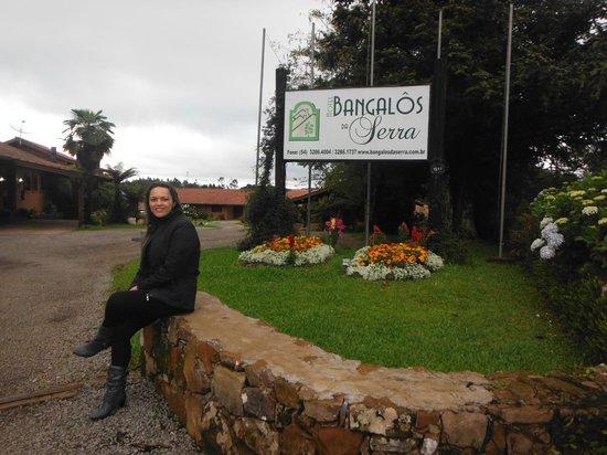 Hotel Bangalos da Serra: Entrada do hotel
