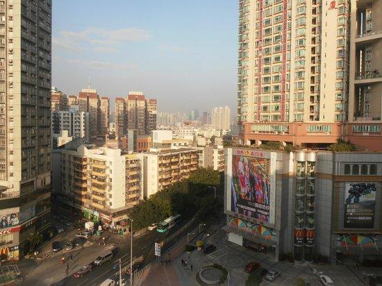 Metropark Hotel Shenzhen: Great views over Shenzhen buildings