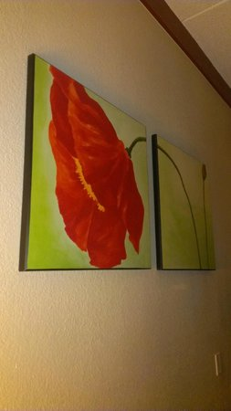 La Quinta Inn & Suites Austin Airport: Room wall decor