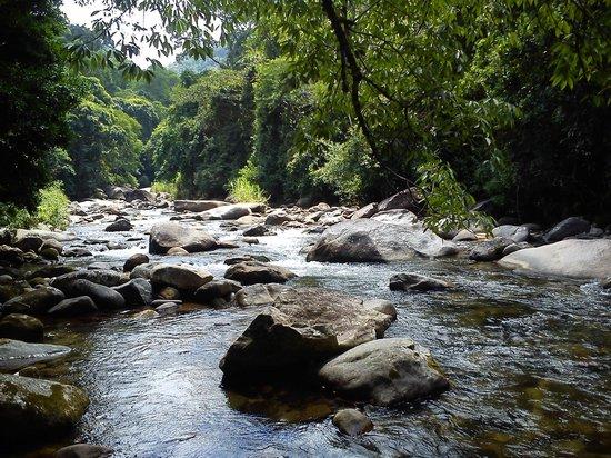 Pousada Estacao Boca Do Mato: Rio na altura dos primeiros bangalôs
