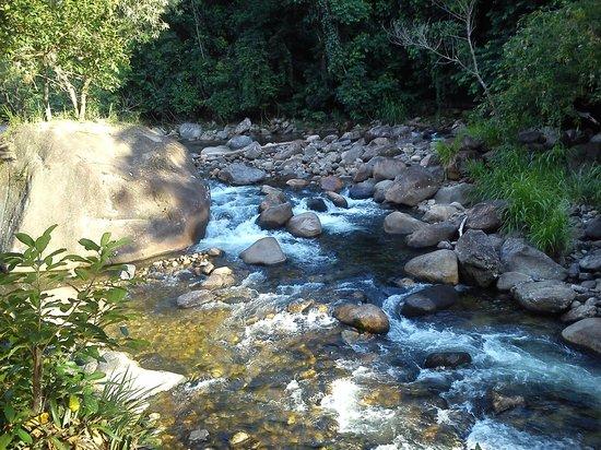 Pousada Estacao Boca Do Mato: Vista do deck da piscina