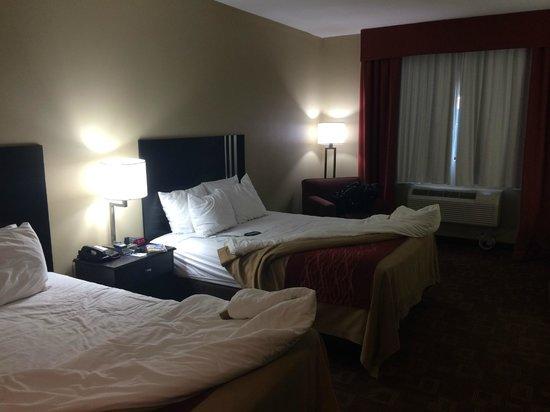 Comfort Inn & Suites : Two Queen Beds