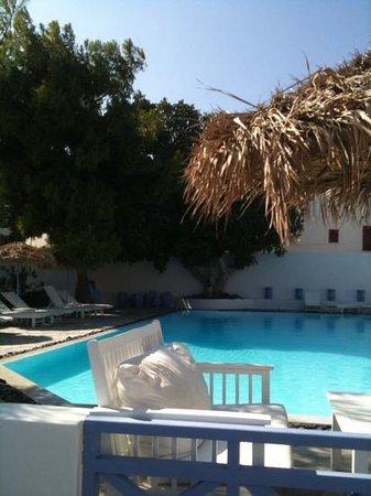 Acqua Vatos Santorini Hotel: Great pool