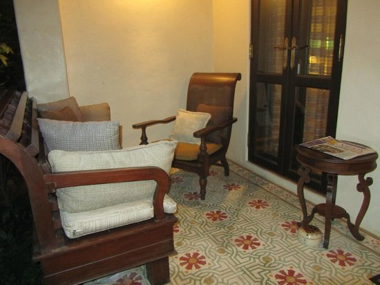 Puripunn Baby Grand Boutique Hotel: my little patio