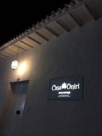 Casa Oniri Hotel Boutique: Fachada