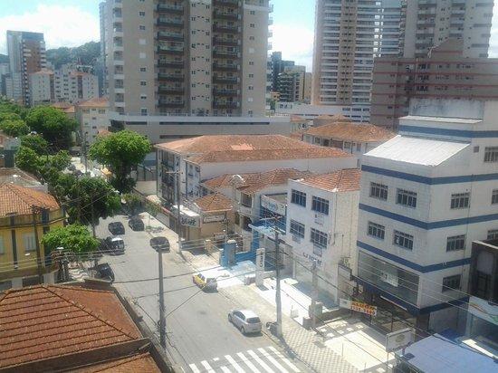 Mendes Plaza Hotel: Vista do quarto