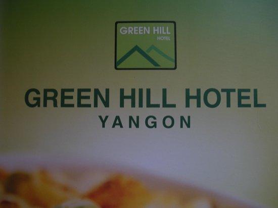Best Western Green Hill Hotel: The Green Hill Hotel in Yangon, Myanmar....