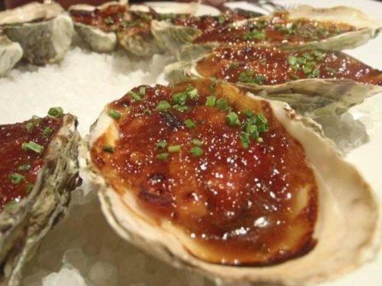 Gaucho's Argentinian Restaurant : Oysters Kilpatrick