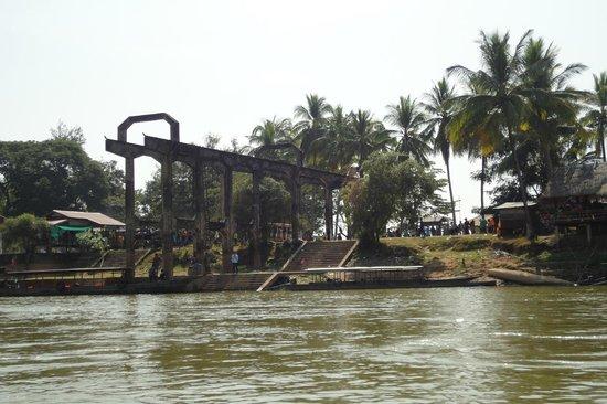 Провинция Тямпасак, Лаос: 埠頭跡