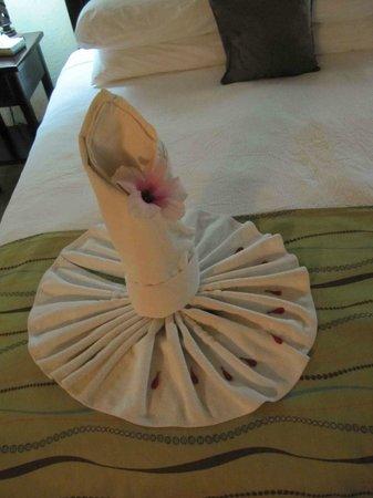 Falls Resort at Manuel Antonio : Nice Towel