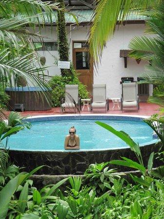 Falls Resort at Manuel Antonio: View to pool