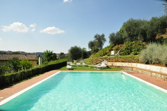 Borgo Grondaie : The pool area