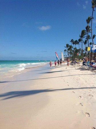 Grand Palladium Punta Cana Resort & Spa : Bevara beach
