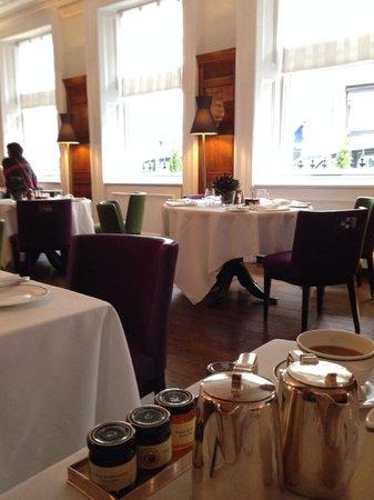 Brown's Hotel: Desayuno