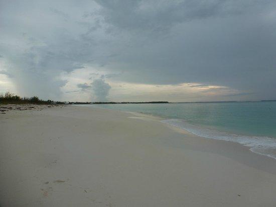 Bahama Beach Club : Beach & blue water