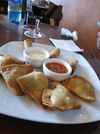 Cafe Restaurant Florin: Piqueo con salsa agridulce picante